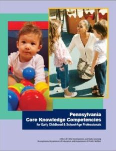Cover for Pennsylvania Core Knowledge Competencies
